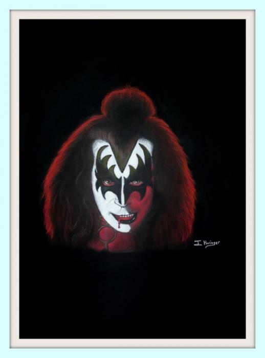 Gene Simmons by InmaHoringer